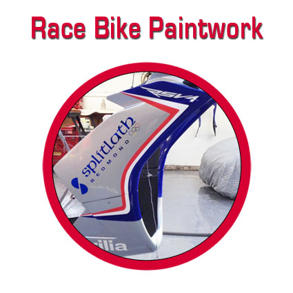 Motorcycle resprays and race bike paintwork