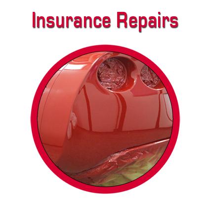 Car insurance repairs